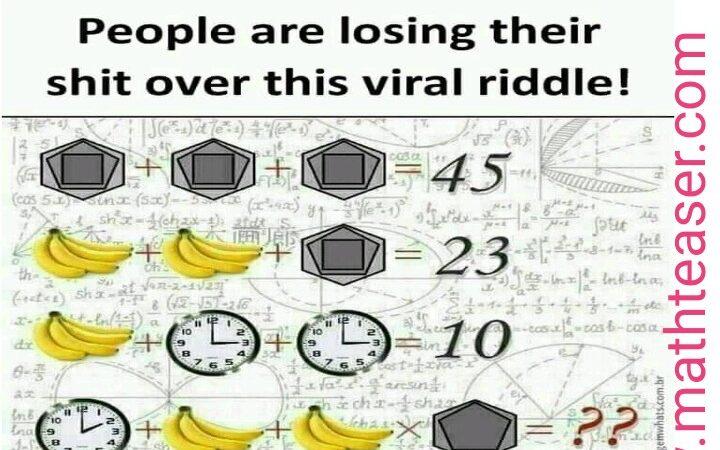 Hard math  and   IQ level Questions