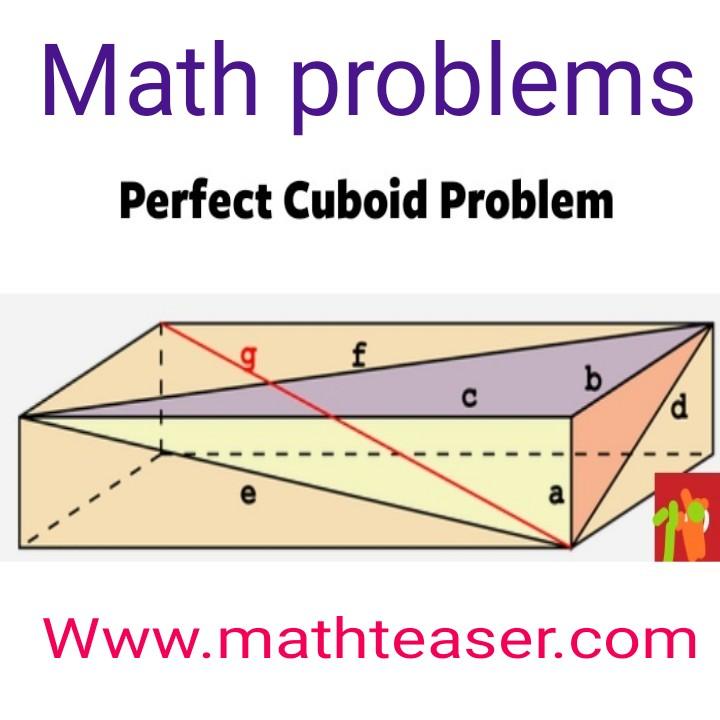 Cubic problems.