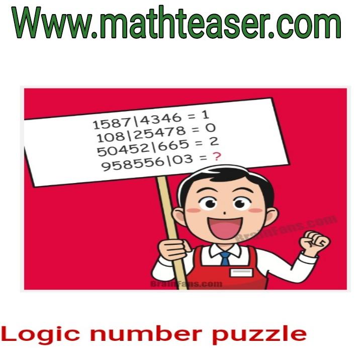 Brain test puzzles