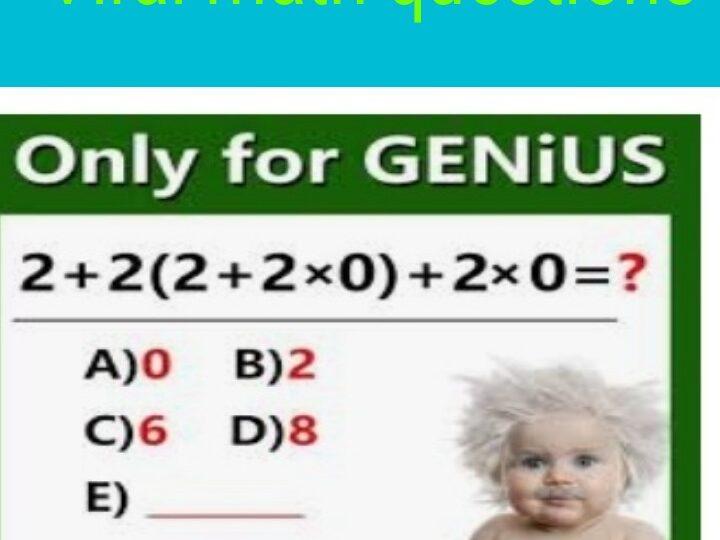 Ultra genius Questions