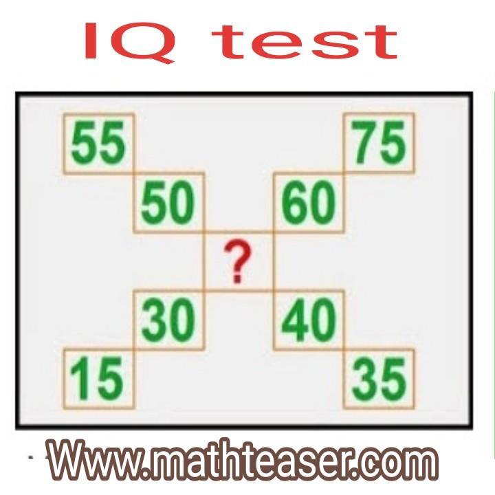 Math puzzles questions